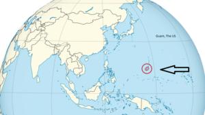 The Guam island