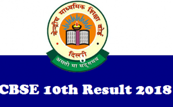 CBSE-Class-10th-result-2018