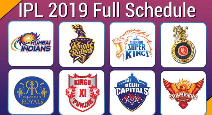 IPL-2019-Schedule
